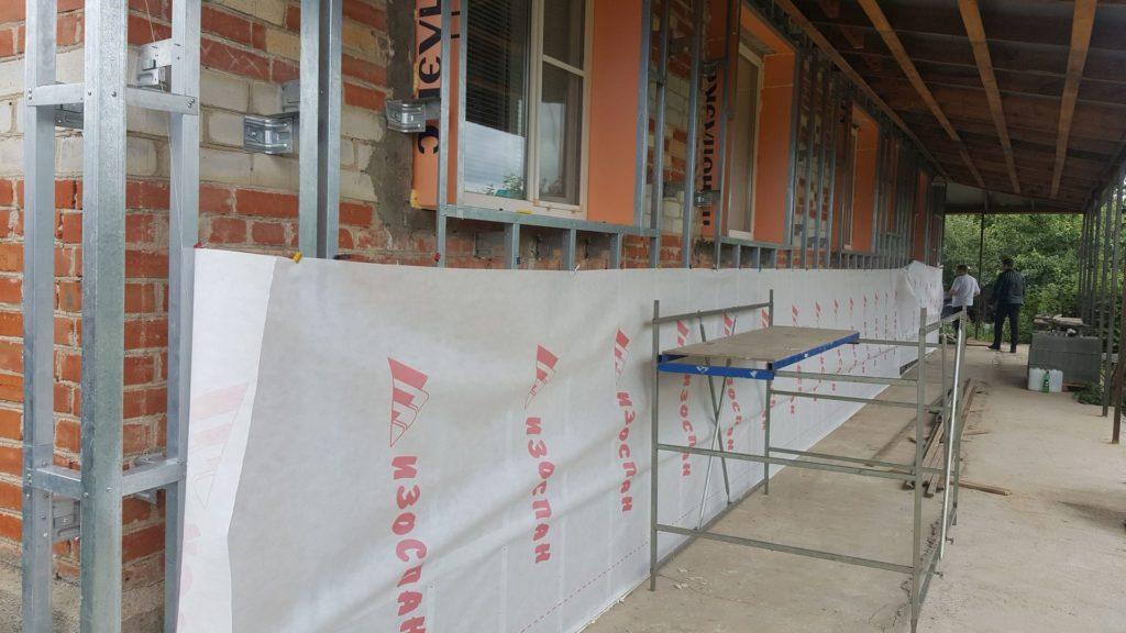 утеплитель для стен дома под сайдинг